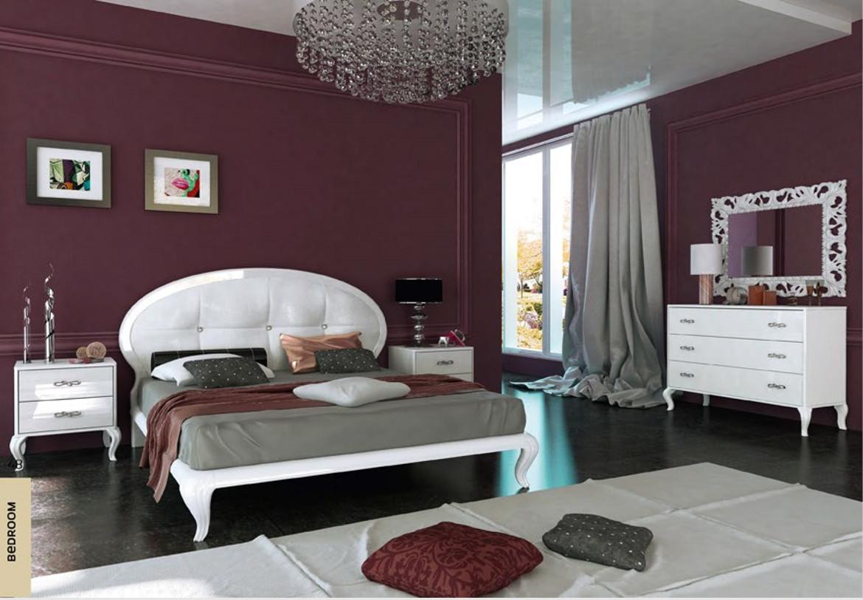 Спальня белая Империя ММ
