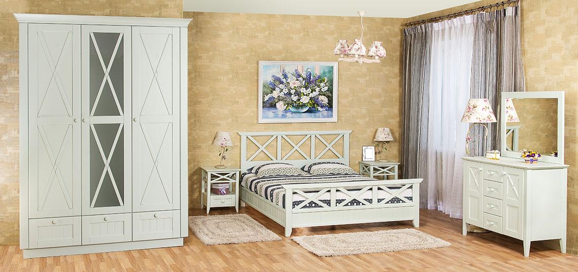 Спальня Кантри Прованс