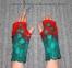 Митенки ручной работы двухсторонние в стиле Хиппи 1