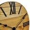 Настенные часы деревянные Nevada цвет Mokko, Gold, Rust 3