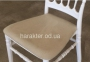 Стул Донна, пластиковый, с подушкой, цвет белый 4