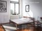 Дерев'яне ліжко з металевою основою Секвойя 160*200 (те) 2