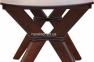 Стол обеденный Брайтон раскладной, цвет орех, белый, бежевый ммУльтра 3