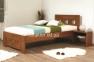 Кровать односпальная 200*90 SPACE (масив буку) мм 1