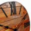 Настенные часы деревянные Nevada цвет Mokko, Gold, Rust 8