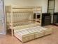 Кровать двухъярусная из сосны Л-306 шм 0