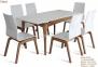 Стол обеденный раскладной деревянный Navi стіл МФ каркас бук, столешница МДФ 4