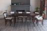 Стол деревянный Прованс овальный, раскладной рбк 0