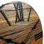 Настенные часы деревянные Nevada цвет Mokko, Gold, Rust 5