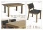 Комплект обеденный стол и стулья Марко (дуб) мф 1