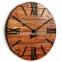 Настенные часы деревянные Nevada цвет Mokko, Gold, Rust 7