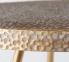 Стол журнальный Кордоба H 55 см, D 55 металл, золото ГП2006105 0