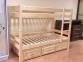 Кровать двухъярусная из сосны Л-306 шм 1