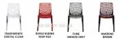 Дизайнерский стул прозрачный Gruvyer (Грувер) из поликарбоната 0