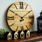 Настенные часы деревянные Nevada цвет Mokko, Gold, Rust 0