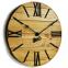 Настенные часы деревянные Nevada цвет Mokko, Gold, Rust 2