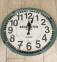 Годинник Круг метал 3720  D 45 Метал Скло фд 4