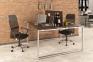 Сдвоенный стильный стол на два рабочих места Q140 1