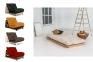 Футон Layti, ліжко-подіум, крісло-ліжко розкладне 90 см, 140 см 5