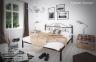 Металлическая двуспальная кровать Бегония те 0