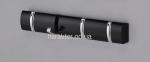 Настенные Крючки Для Одежды СН-4704, цвет ольха, белый, черный ом 3
