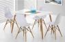 Стол обеденный Нури, деревянный, бук, 120х80 см, цвет белый 2