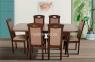 Стол обеденный Мартин раскладной, цвет орех (ультра) мм 2
