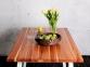 Стол деревянный прямоугольный ЦЕ TRAPEZE ELM/ ЦЕ TRAPEZ WHITE 3