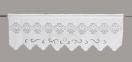 Занавіска з мереживом DF6346 (50х150см.) біла, крем лс 2
