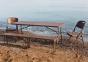 Скамейка складная PLRZB - 18310 Ротанг Коричневый ом 4