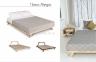 Ліжко-подіум двоспальне Allegro у скандинавському та лофт стилі 7