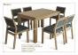 Комплект обеденный стол и стулья Марко (дуб) мф 0