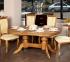 Стол деревянный Фантом овальный, раскладной рбк 0