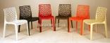 Дизайнерский стул Gruvyer (Грувер) (Crystal-OM) из полипропилена, цвет разный, для кафе, бара, дома кн 22
