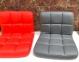Стул офисный Arno CH(ВК)-Office на колесах, основа хром или черный, бархат и кожзам 3