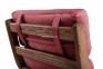 Кресло для отдыха Soul деревянное с мягкими подушками (с оттоманкой или без) мл 4
