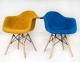 Кресло Leon (Леон) Soft Шерсть (желтый, синий, зеленый, бирюза) ножки деревянные ом 3