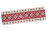 скатертина гобеленова Карпатські мотиви (синій, червоний) 6