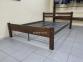 Дерев'яне ліжко з металевою основою Секвойя 160*200 (те) 0