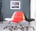 Кресло на колесах Астер (Милан), сиденье с подушкой, цвет черный, белый, желтый, серый мдс 4