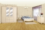 Шкаф деревянный платяной в стиле Прованс ШАТО РБК  2