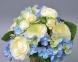 Букет из роз и гортензии SUB023. ат 0