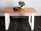 Стол деревянный прямоугольный ЦЕ TRAPEZE ELM/ ЦЕ TRAPEZ WHITE 4