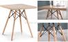 Стол обеденный Тауэр Вуд W, деревянный, квадратный 80*80 см 0