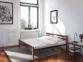 Дерев'яне ліжко з металевою основою Секвойя 160*200 (те) 1