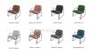 Кресло Монтэ дизайнерское, металл, текстиль в стиле Лофт 8