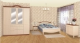 Деревянная кровать в стиле Прованс Шато РБК (с возможностью покраски по РАЛ)140/160/180 3