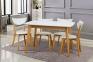 Стол обеденный Модерн, стіл Модерн, столешня мдф, каркас бук, 120*75, 150*90 2