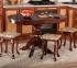 Стол раскладной Рондо деревянный круглый или овальный в классическом стиле рбк 1
