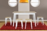 Стол раскладной, Стіл розкладний Сінгл (ясен) 130(+30)*80 мм 1